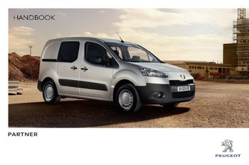 Peugeot Partner 1.9 D Manuals - Car Workshop Manuals