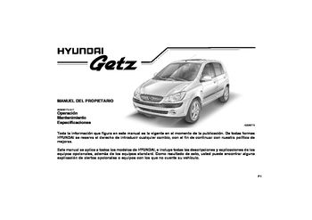 Hyundai getz service manual.