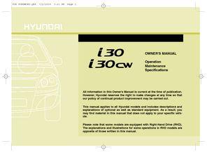 2010 hyundai i30 owner s manual pdf 571 pages rh carmanuals2 com User Manual PDF User Manual