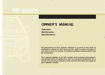 2010 kia cee d owner s manual pdf 442 pages rh carmanuals2 com kia ceed owner's manual download kia pro ceed owner's manual