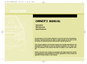 2011 hyundai ix35 owner s manual pdf 436 pages rh carmanuals2 com Car Owners Manual ix35 owners manual