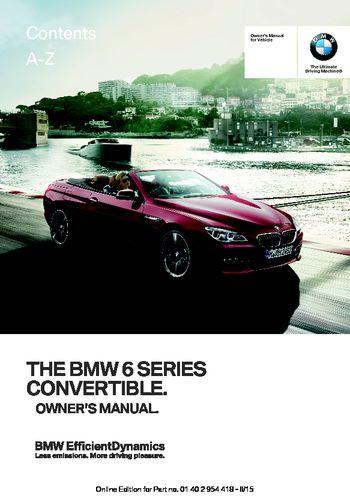 2016 bmw 2 series owners manual
