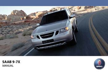 saab 9 7x manual open source user manual u2022 rh dramatic varieties com 2007 Saab 9 7X Specifications 2007 Saab 9 7X Specifications
